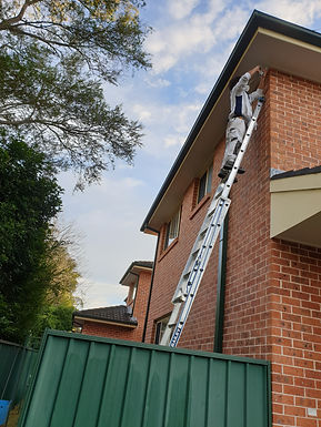 Four Townhouses and Five Villas Exterior Painting
