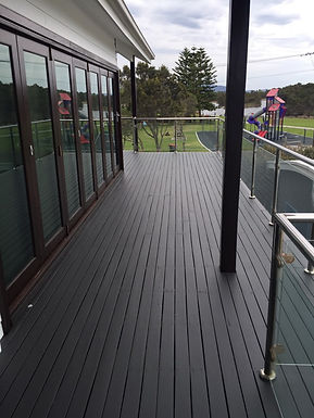 Deck painted Beautifully !