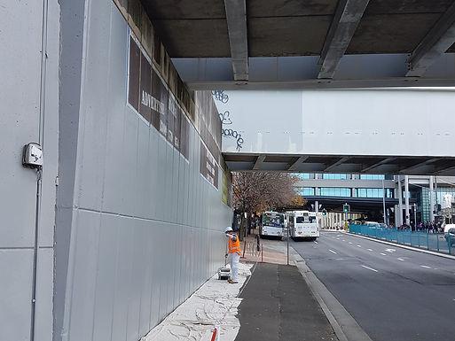 Miranda Station Outside Graffiti Protection Coating