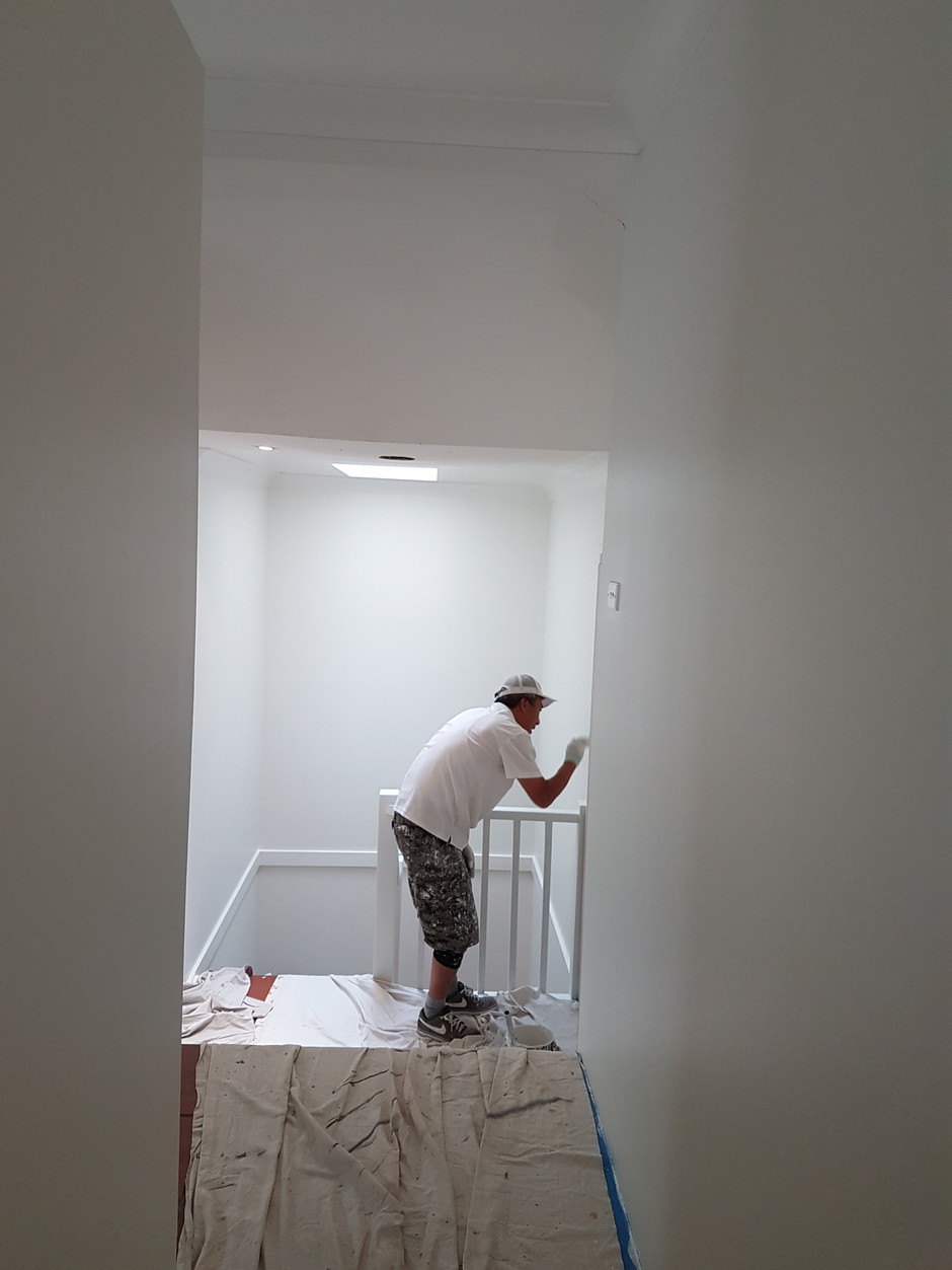 Engadine -4 Bedroom House Interior Painting