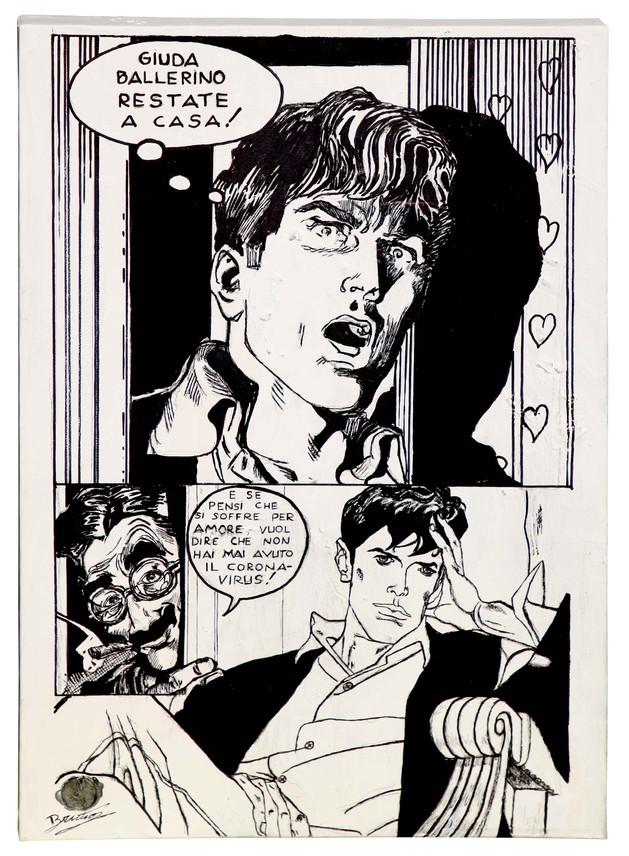 """Dylan Dog: """"Giuda Ballerino restate a casa!"""""""