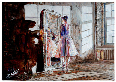 Ballerina riflessa