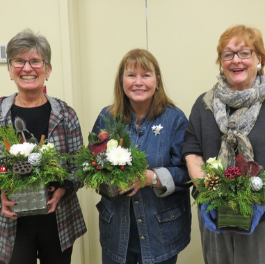 TGHS Hort floral arrangements