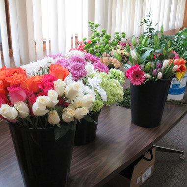 TGHS Floral Design workshop
