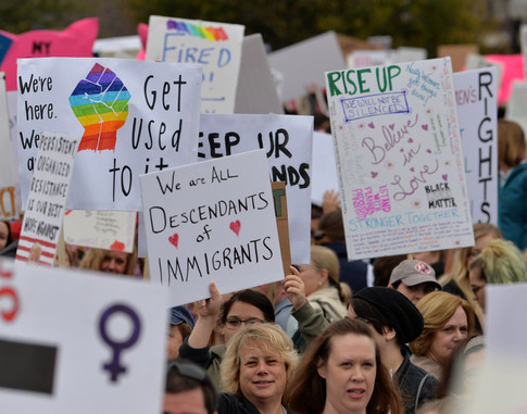 The Best Signs From the 2018 Women's Marches Around the World