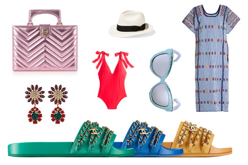 Six Looks for Six Different Vacation Spots