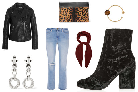 6 Ways to Wear Velvet Shoes This Fall