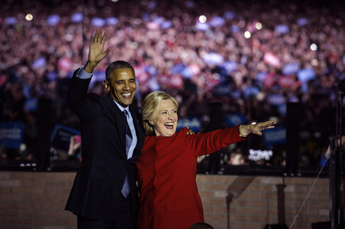 """In a New Poll, Hillary Clinton and Barack Obama Top """"Most Admired"""" Lists"""