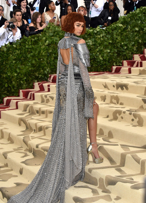 Zendaya Is a Modern Joan of Arc at the Met Gala