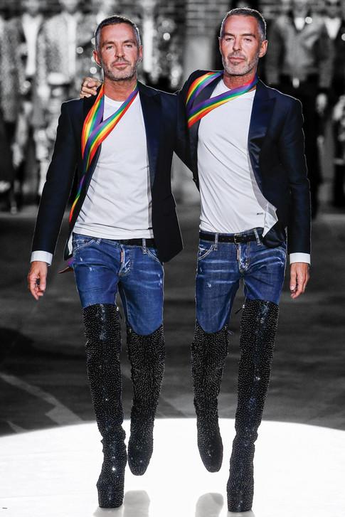 Dsquared2 Designers Dan & Dean Caten On Shaking Up The Menswear Scene