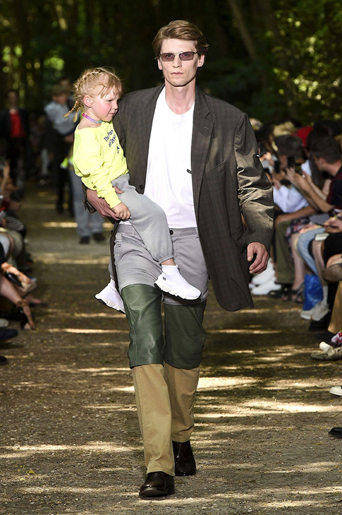 'Dad Style' Is Taking Over the Men's Spring 2018 Runways