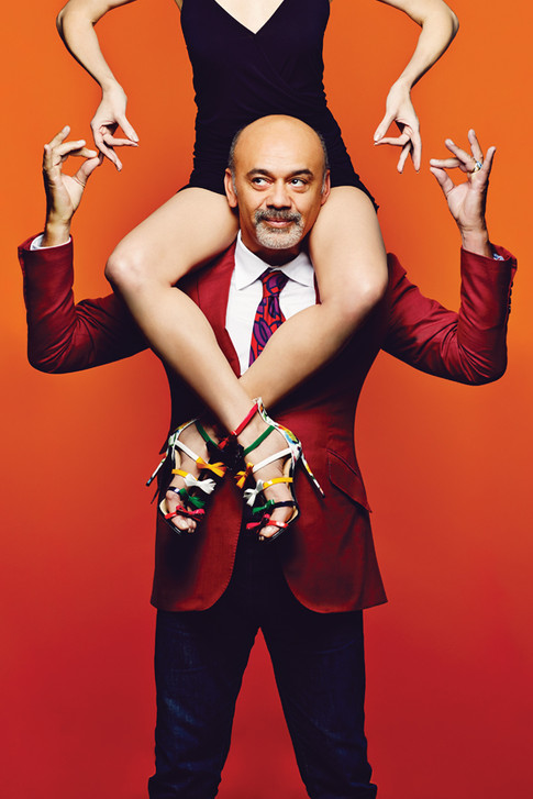 Christian Louboutin on Why Tough Times Call for Extraordinary Shoes