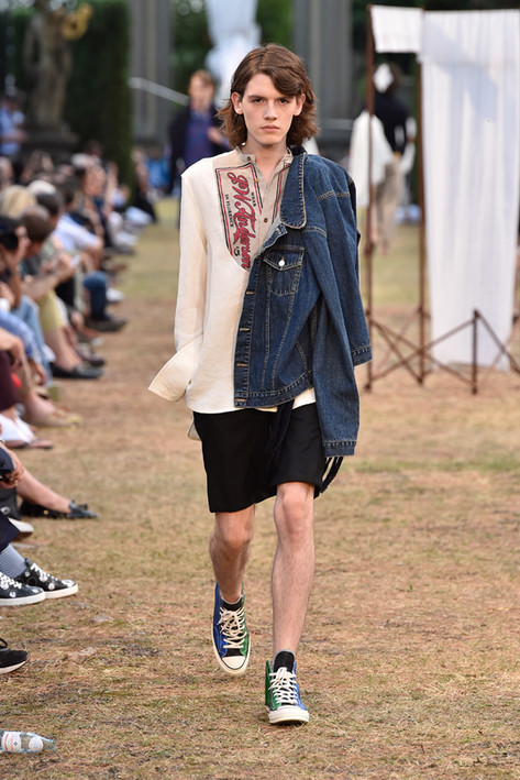 At Pitti Uomo, Retro Men's Sneakers Make a Comeback