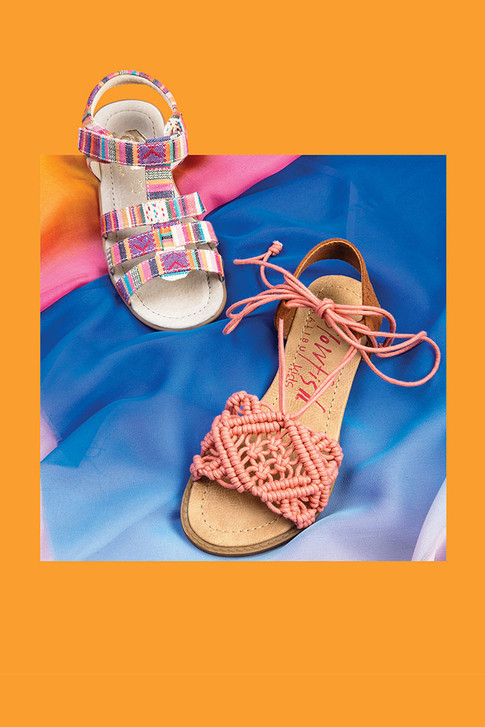 For Spring, Kids Shoes Have a Bohemian Flair