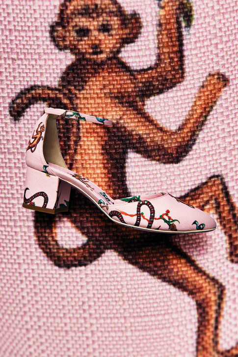 Graphic Prints In Shoes Make A Statement For Resort 2017