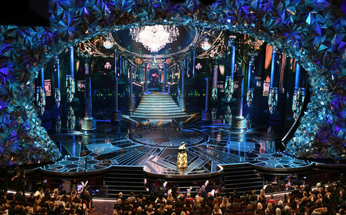 This Year's Oscars Set Is Sparklier Than Ever—and Twitter Was Quick to Notice
