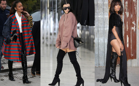 5 Ways to Wear Thigh-High Boots This Fall