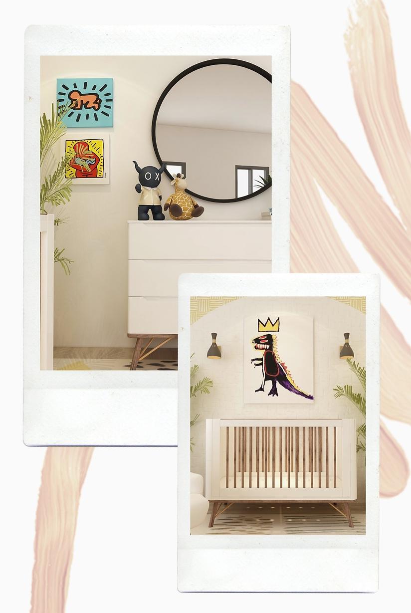 art inspired nursery design