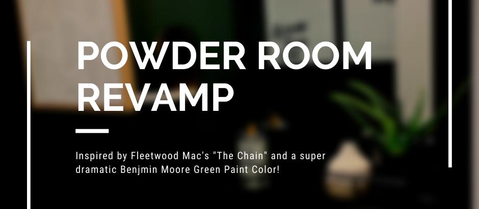 Powder Room Revamp