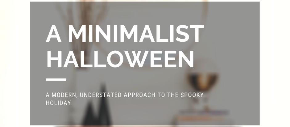 A Minimalist Halloween