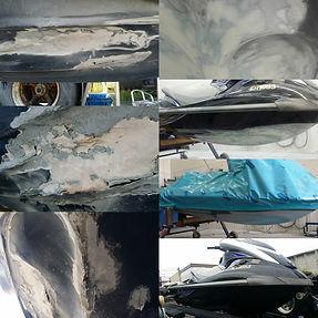 Fibreglass Repair Boat