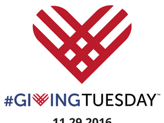 Giving Tuesday in two weeks!