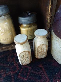 Toy milk jugs