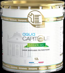 Innova capitole aqua velours peinture acrylique polyurethane batiment