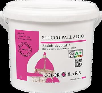 Color rare stucco palladio enduit décoratif  peinture à la chaux peinture naturelle peinture professionnelle produit pro