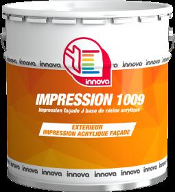 Innova Impression 1009 peinture acrylique façade peinture professionnelle peinture bâtiment peinture façade