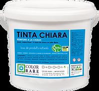 Color Rare Tinta Chiara peinture à la Chaux peinture naturelle peinture batiment produit pro