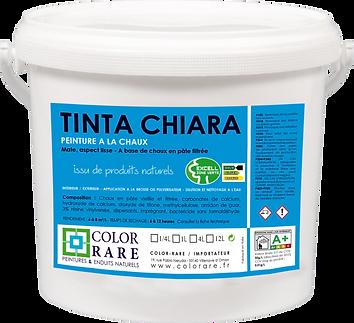 Color rare Tinta chiara peinture à la chaux peinture naturelle peinture professionnelle produit pro