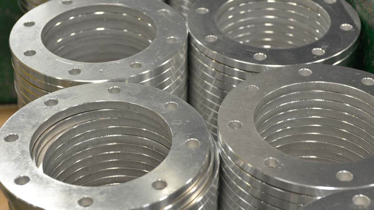 Aluminum Machined Flanges
