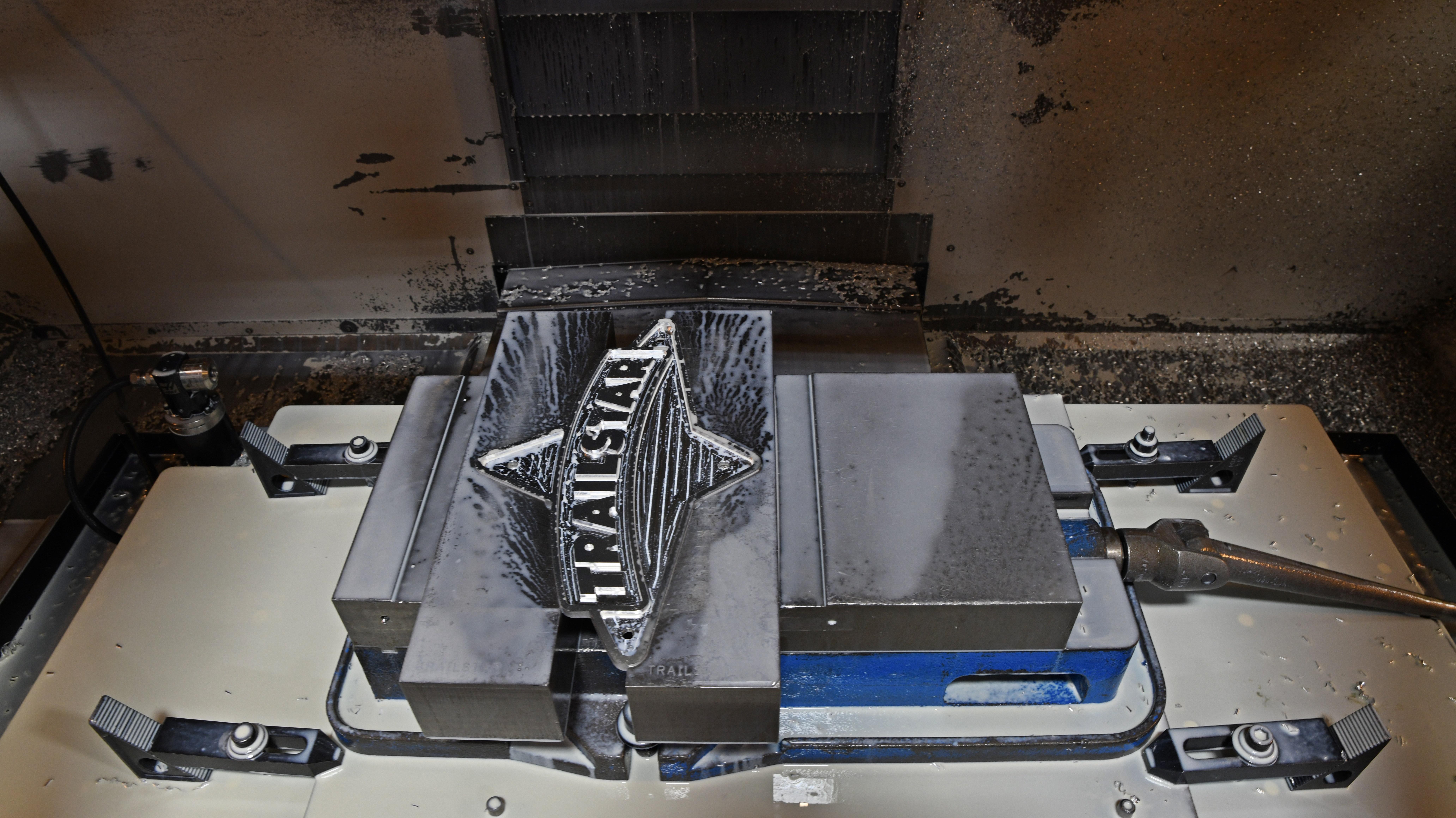 Aluminum Logo Plate