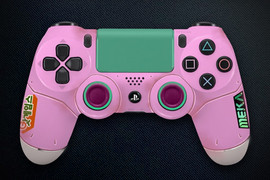 Overwatch Pink PS4 Controller