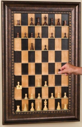 Playable Picture Frame Chess Board