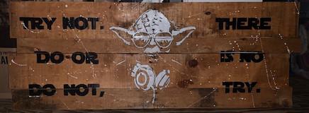 DJ Yoda Wall Art