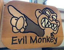 Evil Monkey Wall Art