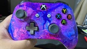 Galaxy Hydro Dipped Xbox Controller