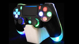 Multi-Color LED PS4 Controller