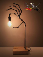 Industrial Skeleton Hand Light