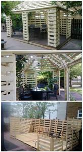 The Ultimate Pallet Pavilion