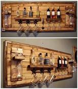 Wall Mounted Full Bar