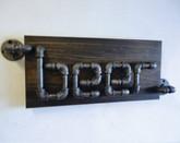 Industrial Beer Sign