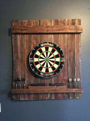 Rustic Dart Board
