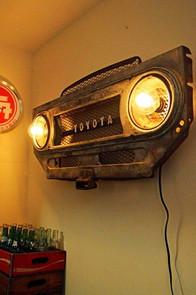 Vintage Grille Light