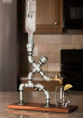Beverage Dispenser Person