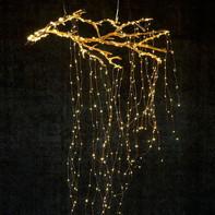 Live Branch Diamond Light Chandelier