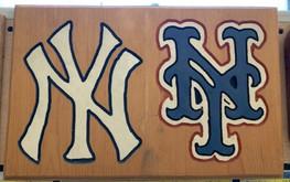 Mets & Yankees Wall Art