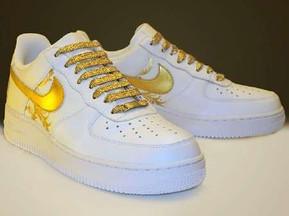 Gold Metallic Air Force